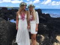 Alli and Ash, La Perouse Bay, Maui Hawaii